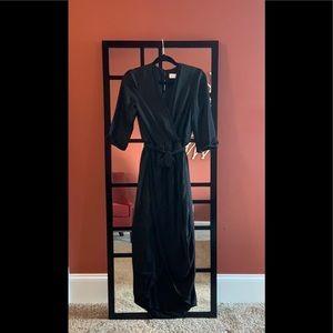 🔥 SALE Amanda Uprichard | Faux Wrapped Maxi Dress